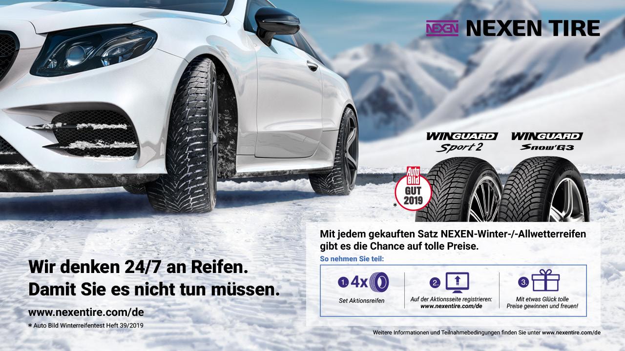 NexenTire - Wir denken 24/7 an Reifen